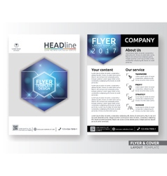 Multipurpose corporate business flyer template vector image