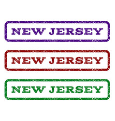 New jersey watermark stamp vector