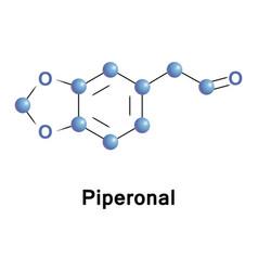 Piperonal also known as heliotropin vector