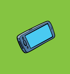 Smartphone phone isolate gadgets and electronics vector