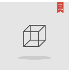 Cube icon concept for design vector