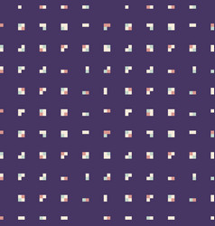 Pattern tetris squares vector