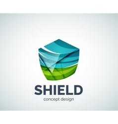 Shield logo business branding icon vector