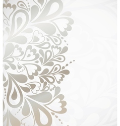 silver background for design vector image vector image