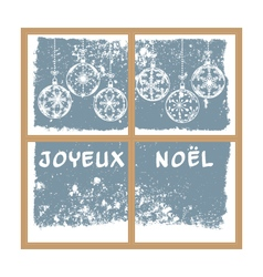 French christmas background vector