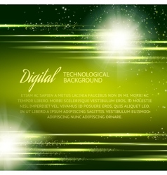Dark green background with light effect vector