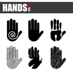 Hands design vector