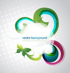 eps10 floral design vector image