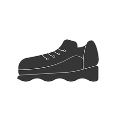 Sneakers shoes icon vector