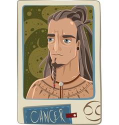 Cancer man vector