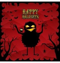 Halloween dark background vector