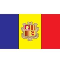 Andorra flag image vector
