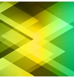 Green geometric business background vector image