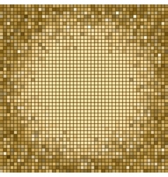 Square pixel mosaic background vector image vector image