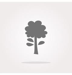 tree Icon tree Icon tree Icon Art tree vector image