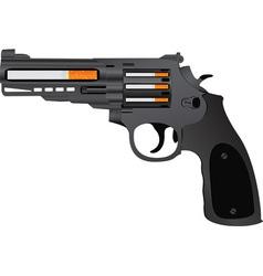 cigarettes pistol vector image