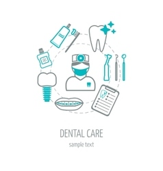 Dental clinic banner background poster concept vector