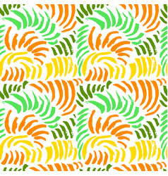 artistic seamless pattern with abstract simply vector image vector image