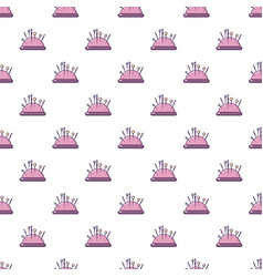 Pincushion pattern seamless vector