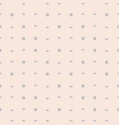 the stylish dots pattern vector image