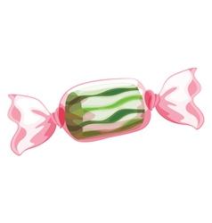 A green candy vector