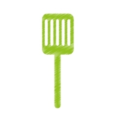 kitchen spatula isolated icon vector image