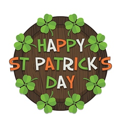 St patricks day decoration vector