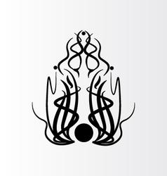 abstract tatoo vector image