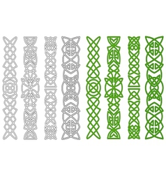 Celtic ornaments and elements vector