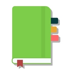 Planners notebook vector image vector image