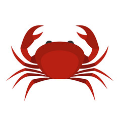 red king crab icon isolated vector image