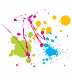 Splatters vector