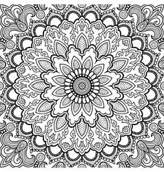 Mandala tattoo islam arabic indian vector