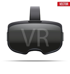 Original stereoscopic 3d vr headset vector