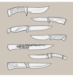 Knives2 vector