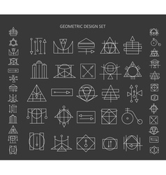The set of geometric signs vector