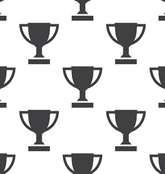 winner cup seamless pattern vector image