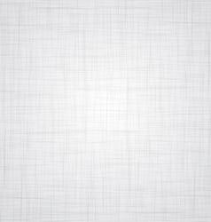 White Linen Texture vector image