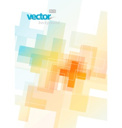 Colored abstract vector
