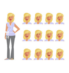 Set of woman expression vector