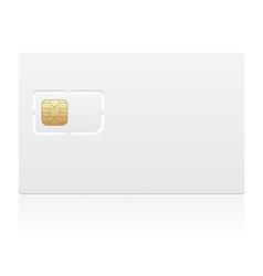 sim card 03 vector image