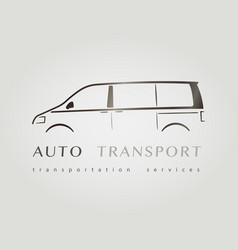 Template of identity for car company vector