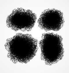 Ink stains design templates for backgrounds vector