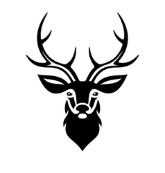 Deer head vector