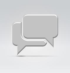 Conversation icon vector