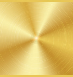 gold or bronze metal abstract technology vector image