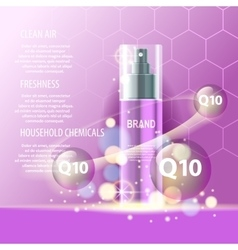 Realistic cosmetic tubes and bottles for yout vector