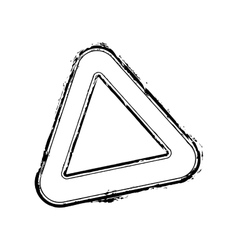 Triangle Stamp vector image