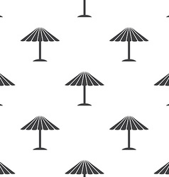 Parasol seamless pattern vector