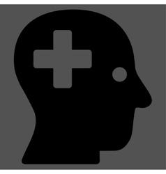 Plus Head Icon vector image